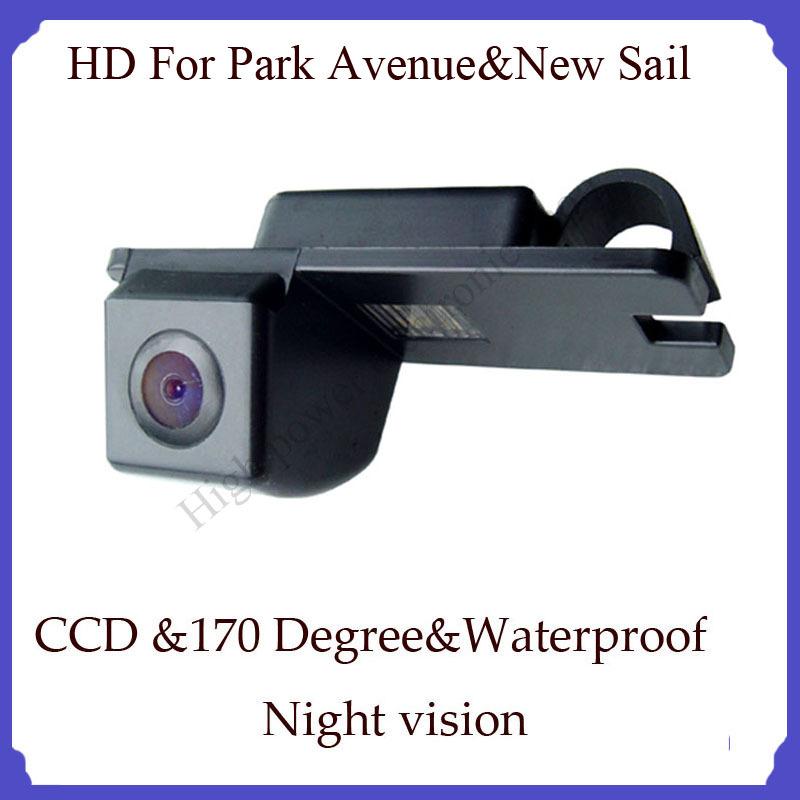 backup camera CCD For Park Avenue New Sail car parking camera night nision Wire car back camera rear(China (Mainland))