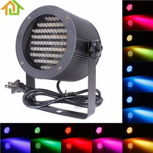 Buy RGB LED Stage Light Lamp Disco Party Club DJ Magic Ball DMX-512 Mini Laser Stage Projector Lighting Effect 86 LEDs for $21.69 in AliExpress store