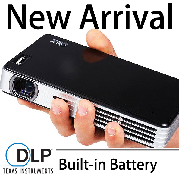 DLP Mini Projector TF USB projecteur portable handhold projetor school home cinema built-in battery proyector HDMI support 1080p<br><br>Aliexpress