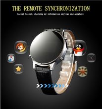 2016 самых продаваемых Bluetooth 4.0 Smartwatch подключения android-автомобильный ISO смарт-чехол часы стали круглого дистанционного управления MT360 reloj inteligente