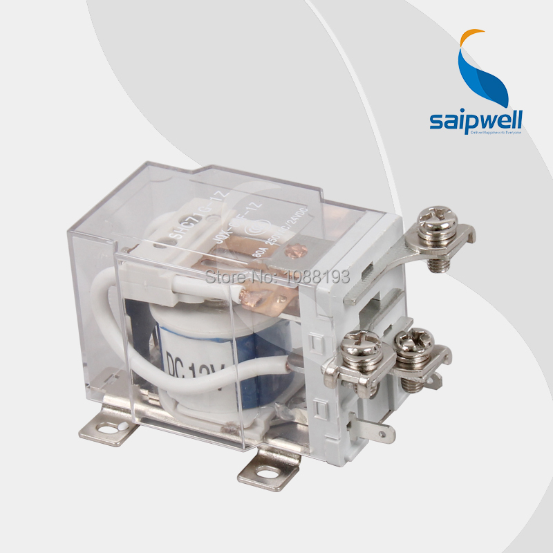 CE Approved Electromagnetic Relay/ 50A 240VAC/28VDC Power Relay SHC71G(JQX-40F),77.2*46*46mm Size(China (Mainland))
