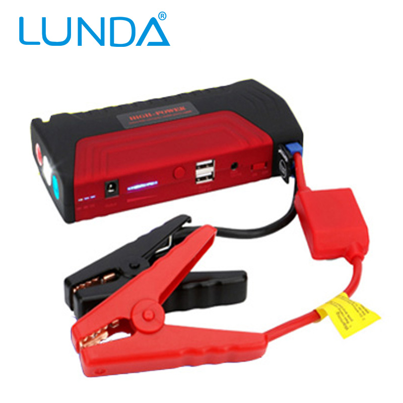 50800mAh LUNDA Car Jump Starter High-capacity battery charger pack for auto vehicle starting And power bank for digital products(China (Mainland))