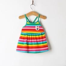 الفتيات اللباس 2018 الصيف انفجار بلون الدنيم اللباس الكرتون البولكا نقطة القوس الكرتون الأرنب حقيبة الكورية طفل لطيف اللباس(China)