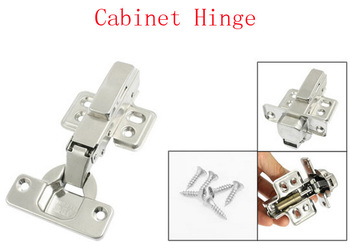 Cupboard Cabinet Door Hydraulic Full Overlay Stainless Steel Hinge 2pcs