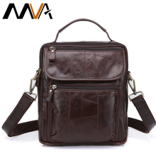 Buy MVA Genuine Leather Bag top-handle Men Bags Shoulder Crossbody Bags Messenger Small Flap Casual Handbags Male Leather Bag New for $25.28 in AliExpress store