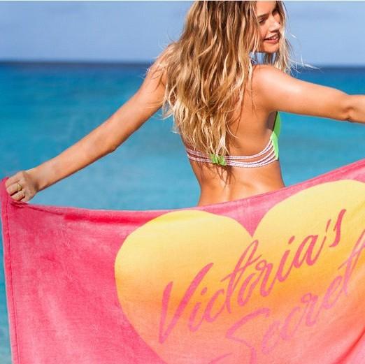 Women Vic s 100% cotton Bath Beach Towel Plus Thick New Luxury International Brand Towel(China (Mainland))