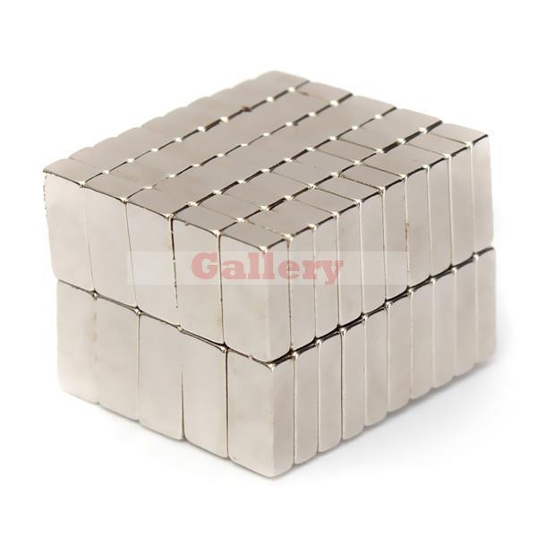 Neodymium Magnets Iman Neodimio 200pcs N50 Super Strong Block 10x 5 X 3mm Rare Earth N52 Neodymium Magnets Cylinder 10 X 20(China (Mainland))