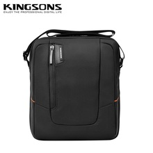 "High Quality Brand Messenger Bag For ipad 1/2/3/4, For 7"",8"",9"".10"" Tablet Mid Black Case, Free Drop Shipping. KS3021W(China (Mainland))"