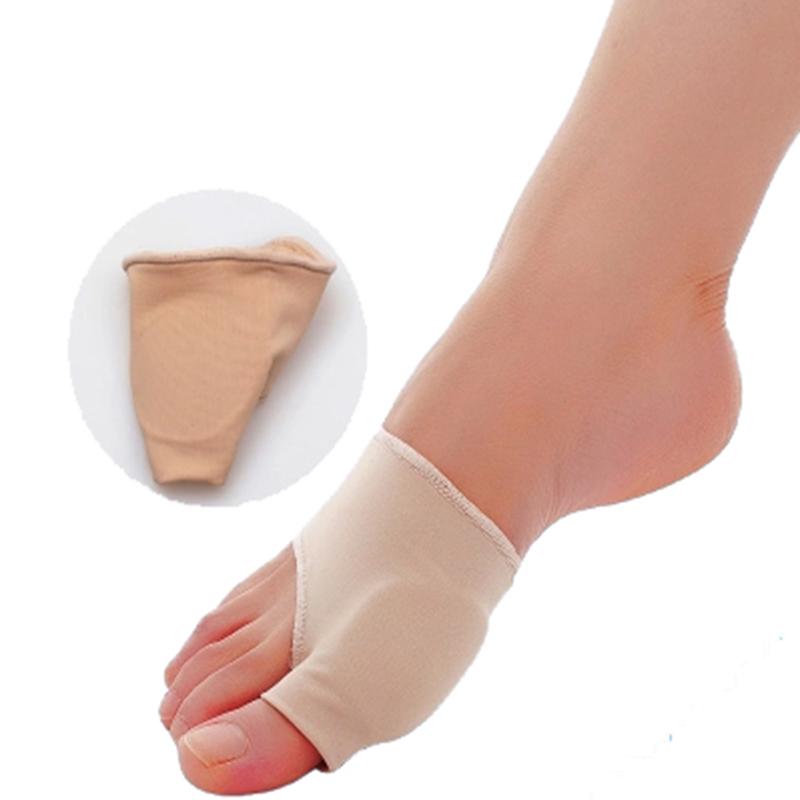 2pcs/lot Stretch Nylon Great Toe Cyst Foot Care Tool , Hallux Valgus Guard Cushion Bunion Toe Separator Free shipping(China (Mainland))