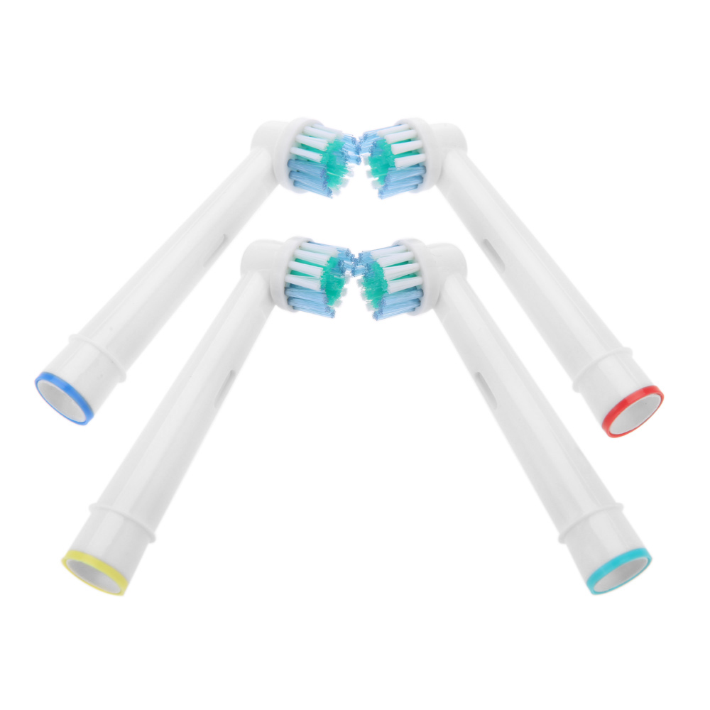 4Pcs/set B Electric Toothbrush Replacement Heads for Braun Oral Vitality EB17-4 Oral hygiene care clean Tooth brushes Head(China (Mainland))