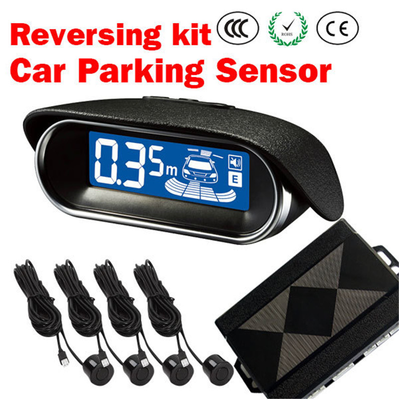 2016 new arrival LCD car parking sensor system reversing kit parking assist system A02