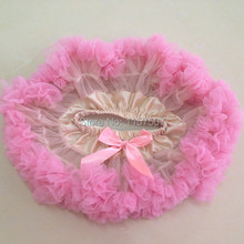 Newborn Baby Girl First Photo Outfit - Pink and ivory Newborn Pettiskirt  ( 5 Pieces / lot )(China (Mainland))