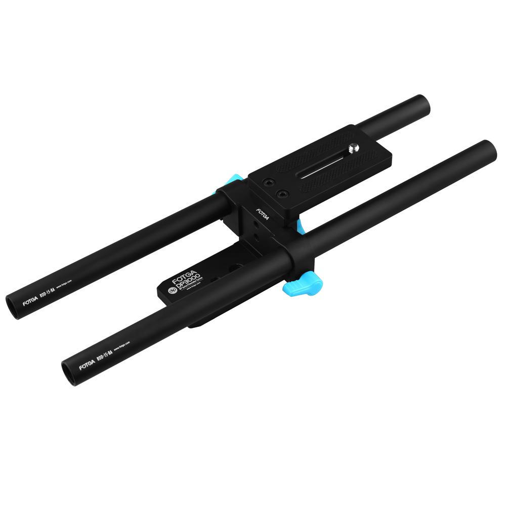 FOTGA DP3000M1 15mm-Rod Support Simple Baseplate Mount DSLR Rig Follow Focus Tilta Damped<br><br>Aliexpress