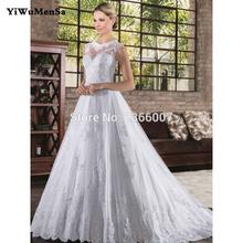 Buy Vestido de Noiva Lace A-Line Vintage Wedding Dresses 2017 O Neck Appliques Bead Vintage wedding dress Robe de Mariage Brautkleid for $126.10 in AliExpress store