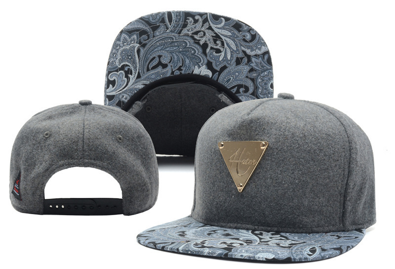 2014 new hater gray adjustable baseball snapback hats and caps for men