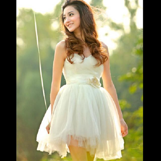 Hot-selling elegant sweetheart cute dress xlf0101