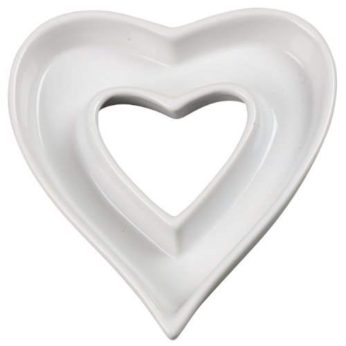 Heart shape White ceramic letter dish or plate for candy bar party suply wedding accessaries dish lover porcelain plate(China (Mainland))