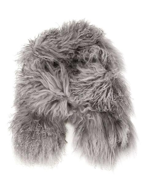 Fs016 155 * 12 см мода кольцо шарф монгольских овец шарф