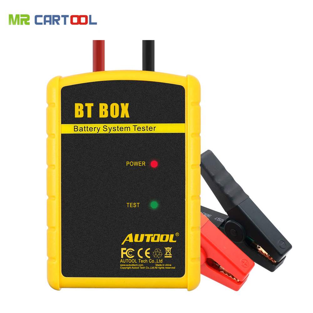New Arrival Battery Tester AUTOOL BT BOX Support Android/ISO Powerful Function Automotive Battery Analyzer(Hong Kong)
