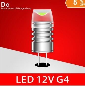 SAMSUNG CHIP Ledg4 12v crystal lamp 1w 1.5w g4 light beads led g4 light beads g9 led g4 lamp led car light