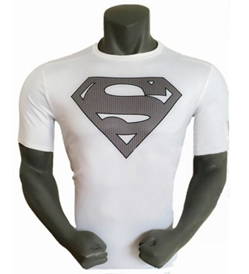 2015 TOP ! Fashion Superman compression t-shirts men superman tops tees men sports quick dry fitness shirt Free ShippingОдежда и ак�е��уары<br><br><br>Aliexpress
