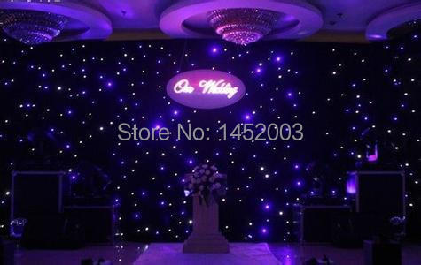 Fireproof P18 LED Video Curtain 2m x 3m With PC Controller 10%off Free Shipping(China (Mainland))