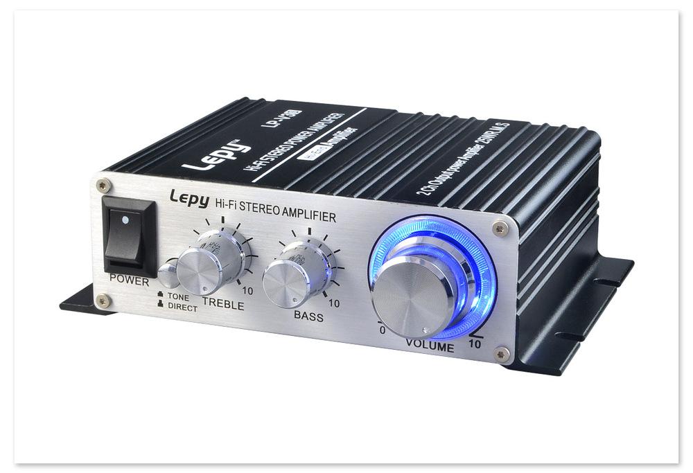 LP-V3S mini hi-fi power amplifier Class T digital signal High fidelity power amplifier dc DC12V power amplifier(China (Mainland))