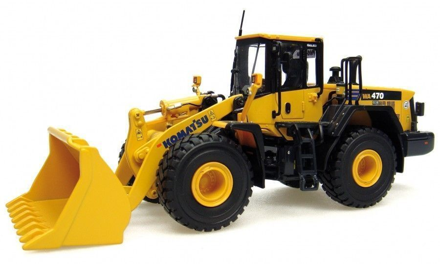 UH8001 UH Universal Hobbies Komatsu WA 470/7 Construction Machine Diecast 1:50(China (Mainland))