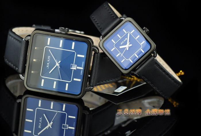 Мужская Homme Наручные Часы Япония Кварцевых Часов Лучший Моды Платье Ретро Браслет Группа Кожа Бизнес Мальчик День отца подарок JA-558