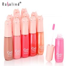 Rosalind Lips Makeup Wheaten Nude Moisture Care Vitamin E Nourish Lip Gloss 12 Gorgeous Color 10g Brand MANSHILI(China (Mainland))