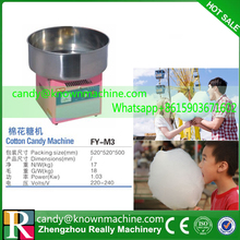 Free ship by DHL Adjustable speed Fancy NEW BRAND Full Electric Commercial Candy Floss/cotton candy Machine(China (Mainland))