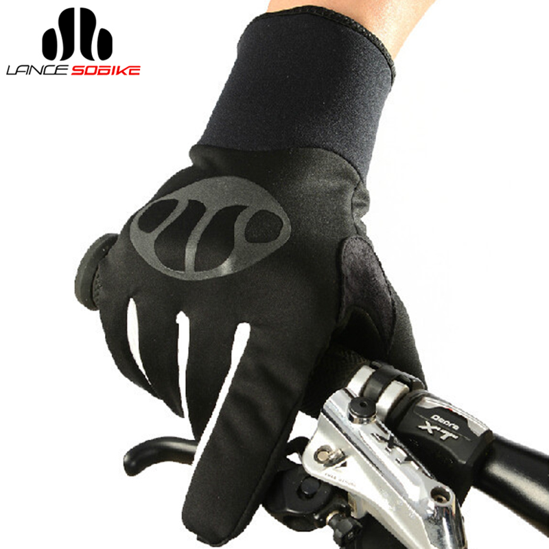 Sobike Cycling Bike Bicycle 3M Thinsulate Gloves High quality Warm in Winter Full Finger Warm Gloves- Mars, 1.5 Much Warmer(China (Mainland))