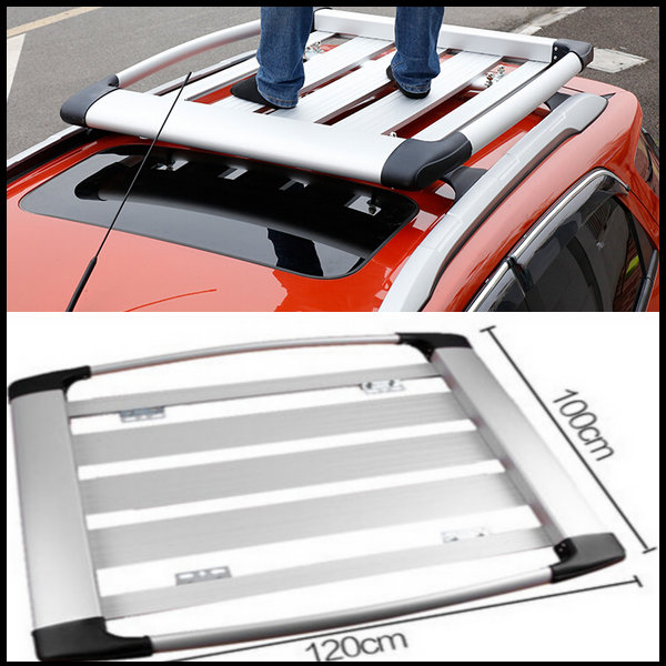 SUV car Auto Car Roof Rack Luggage rack Luggage box Ecosport Roof Racks Luggage box car Accessories For Ford Ecosport Silver(China (Mainland))
