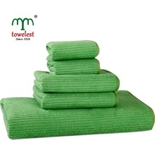 New Arrival Microfiber Towel Set  5pc/set Solid Bath Towel Plain Dyed Hand Towel MMY Brand Quick Dry Towels bathroom for Adult