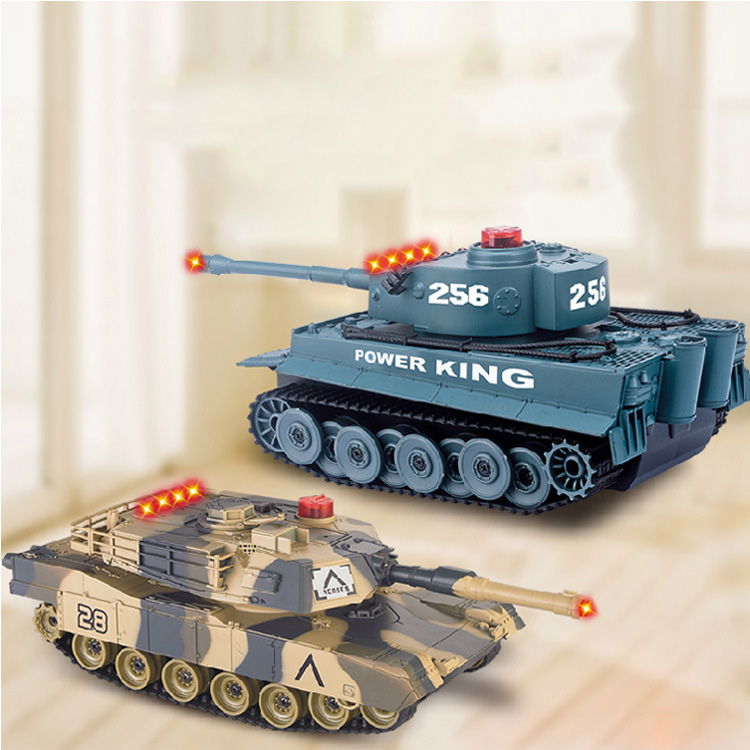 Fighting Battle Tanks 4CH RC Infrared Shooting Tank Electric Toys Army Vehicle Big War Tank For Kids(China (Mainland))