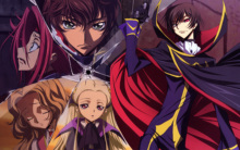 Free shipping CODE GEASS ZERO LELOUCH Japan Anime Poster printed silk wall decoration 12×18 24x36in(1450066494157)