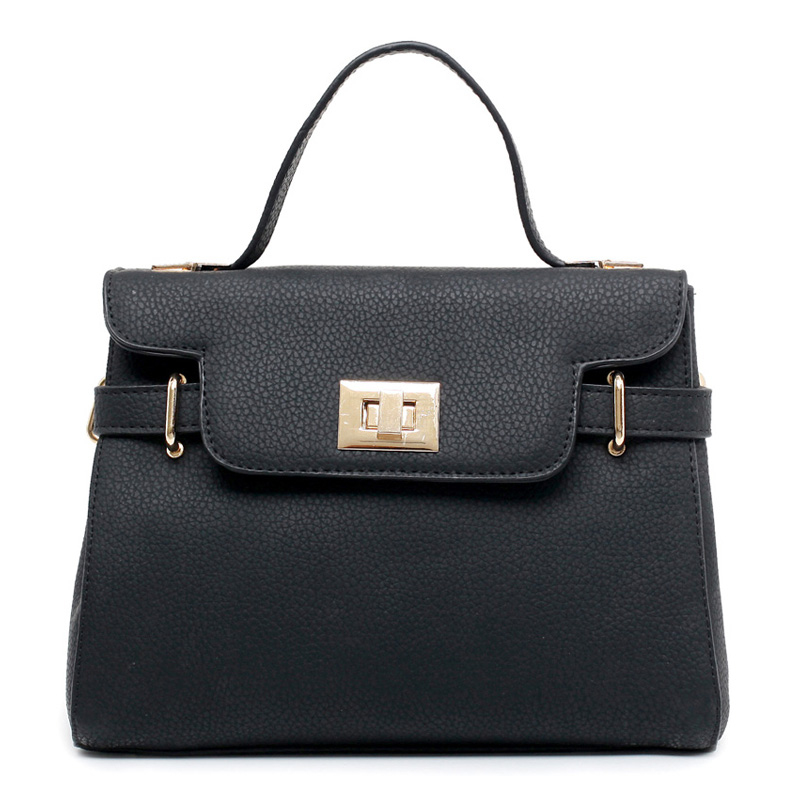 2016 New fashion Women Handbag PU Leather bags women messenger bag Vintage Leisure women bag  black Shoulder Crossbody Bags<br><br>Aliexpress
