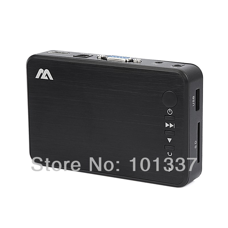 MP023 High Quality 3D USB Full HD 1080P HDD Media Player HDMI VGA AV Optical HDMI AV USB host MKV H.264 AVI GIFT&Free Shipping(Hong Kong)