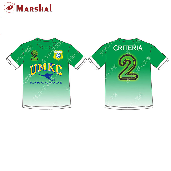 Football shirt customizing,wholesale sublimation soccer t shirt different color(China (Mainland))