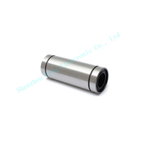 2pcs lot LM6LUU long type 6mmx12 mm x35mm 6mm linear ball bearing bushing for linear guide