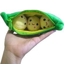 Free shipping 1 pcs / 20CM Kids Baby Plush Toys For Children Cute Pea Stuffed Plant Doll Girlfriend Kawaii Gift High Quality Toy(China (Mainland))