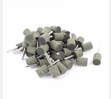 6 mm vástago 20 mm cilindro de rueda de goma cabeza abrasivos montado puntos 20 unids específicos del artículo