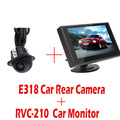 480x272 Pixels 4 3 Inch TFT LCD Car Monitor Car Rear View Monitor E318 Night Vision