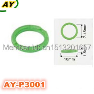 200pieces/set TOP FEED MPI Fuel injector plastic parts ,plastic washer ,gasket for AY-P3001(10*1.5*7.45mm)