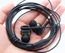 New HA-FXT90 Twin Speaker System earphones Original FXT90 TWO MICRO HD High Definition Sound earphones MP3 MP4 player headsets(China (Mainland))