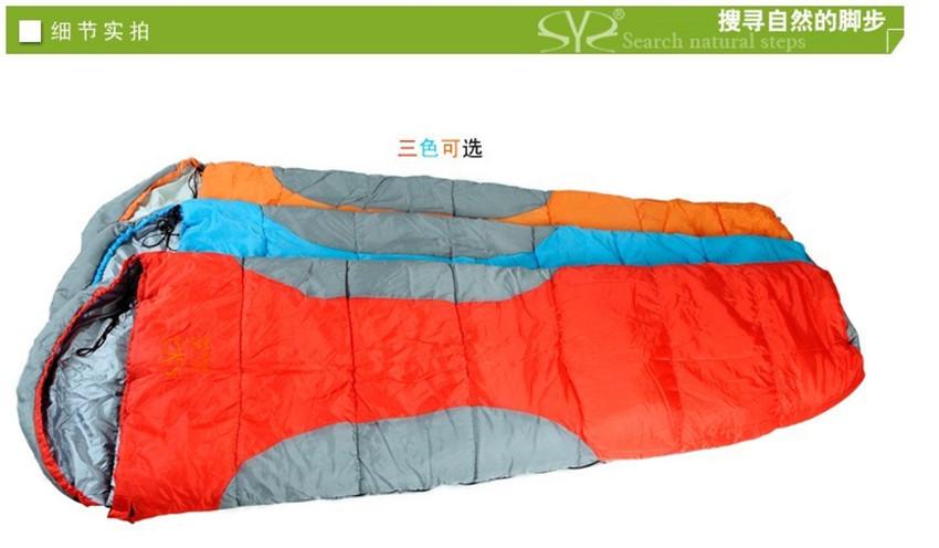 Фотография Winter Outdoor Camping Sleeping Bag Mummy  Thickening Sleeping Bags Adult