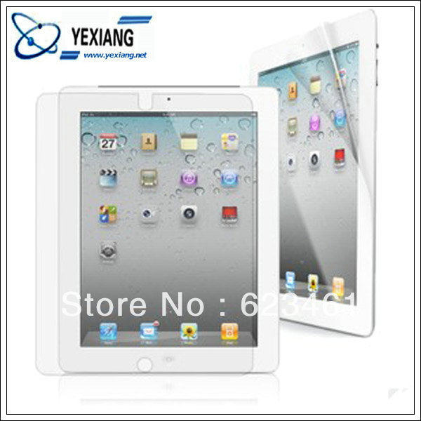 99% high transparent, high clear screen protector for ipad 4.3.2 and mini