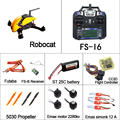 DIY Robocat Rc Quadcopter with camera FS I6 transmitter CC3D Flight Controller Simonk 12A Esc Emax