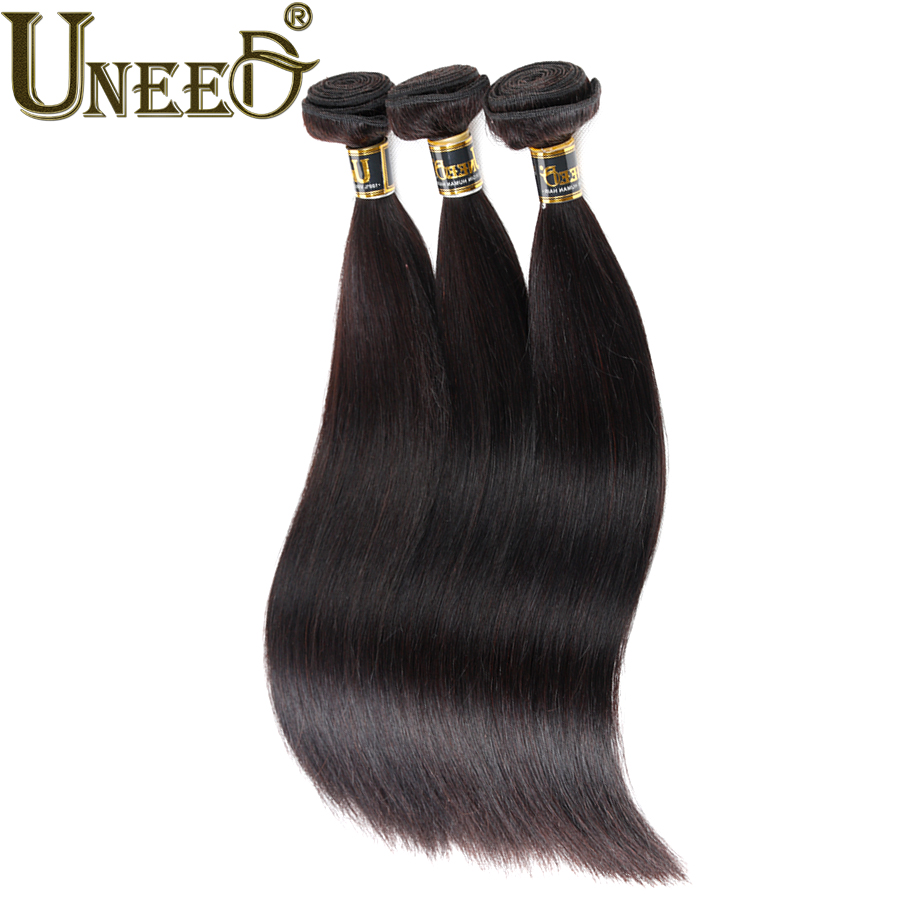 Ms Lula Hair Products 8A Unprocessed Virgin Indian Straight Hair 3pcs Raw Indian Hair Straight Human Hair Extensions(China (Mainland))