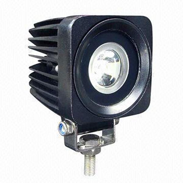 Free Shipping IP68 2 Inch 10W Mini Auxiliary LED Work Light LED Car Front foglights(China (Mainland))